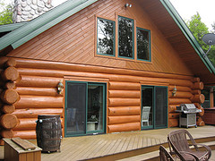 are log homes energy efficient